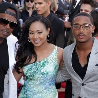 Master P, Cymphonique Miller, Lil' Romeo in 2012 MTV Movie Awards - Arrivals