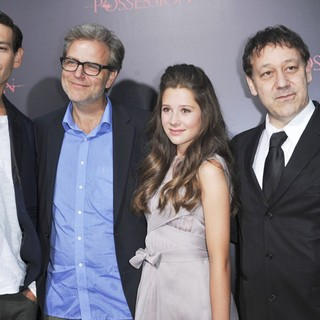 Matisyahu, Ole Bornedal, Natasha Calis, Sam Raimi in The Premiere of The Possession - Arrivals