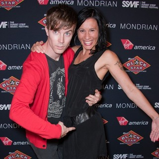 Matt and Kim in Dance Punk Duo Official VIP Party of The 4th Annual Sunset Strip Music Festival