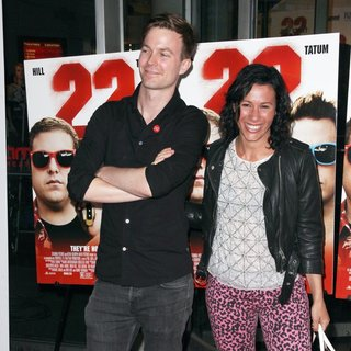 Matt and Kim in New York Premiere of 22 Jump Street