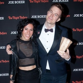 Matt and Kim - New York Screening of Columbia Pictures' The Night Before - Red Carpet Arrivals