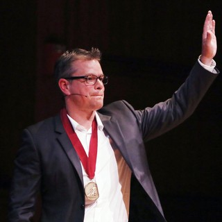 Matt Damon in Harvard University Honours Matt Damon with The 2013 Arts Medal