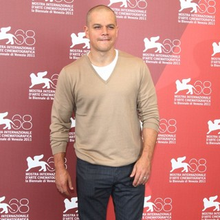 Matt Damon in The 68th Venice Film Festival - Day 4 - Contagion - Photocall