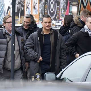 Matt Damon Is Seen Filming Bourne 5
