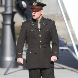 Matt Damon - On The Set of Movie The Monuments Men