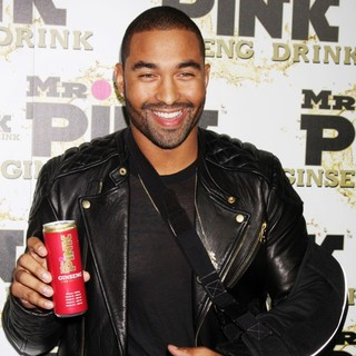 Matt Kemp in Mr. Pink's Ginseng Energy Drink Launch - Arrivals
