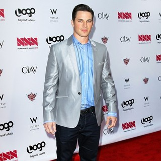 Matt Lanter in LOGO's 2012 NewNowNext Awards