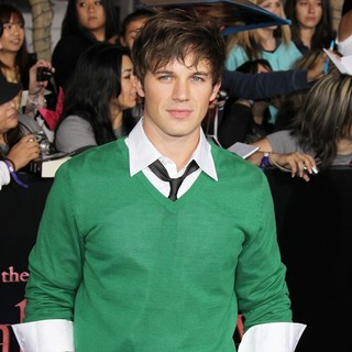 Matt Lanter in The Twilight Saga's Breaking Dawn Part I World Premiere