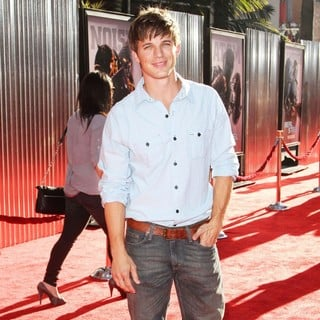 Matt Lanter in Los Angeles Premiere of Real Steel