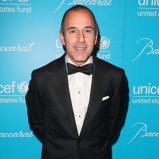 Matt Lauer in 2011 UNICEF Snowflake Ball - Arrivals