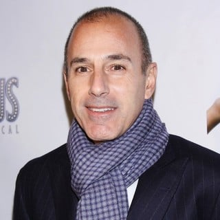 Matt Lauer in The Premiere of Scandalous The Musical - Arrivals - matt-lauer-premiere-scandalous-the-musical-01