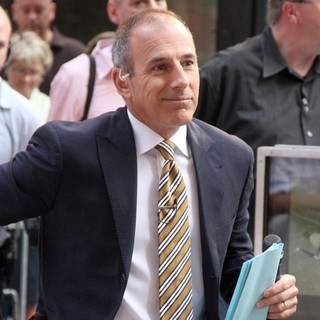 Matt Lauer Outside Rockefeller Center for The Today Show's Concert Series - matt-lauer-today-show-03