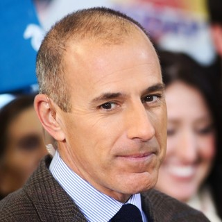 Matt Lauer in NBC's Today Show Hosts Matt Lauer and Savannah Guthrie Present The Show from Boston
