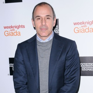 Matt Lauer in Weeknights with Giada Book Launch Party - matt-lauer-weeknights-with-giada-01