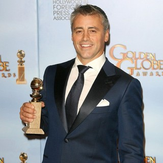 Matt LeBlanc in The 69th Annual Golden Globe Awards - Press Room