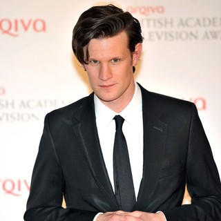 Matt Smith in The 2012 Arqiva British Academy Television Awards - Winners Board