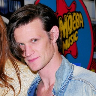 Matt Smith in Doctor Who: Series 6 DVD Signing - Signing