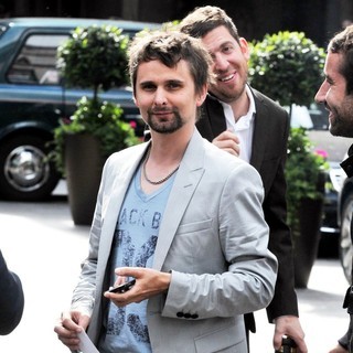 Matthew Bellamy, Muse in The 2011 Ivor Novello Awards - Departures