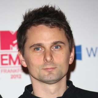 Matthew Bellamy, Muse in The MTV EMA's 2012 - Arrivals