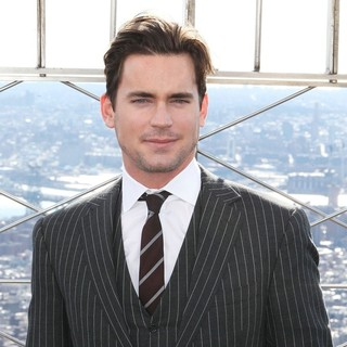 Matthew Bomer in Matthew Bomer Makes A Special Promotional Appearance at The Empire State Building