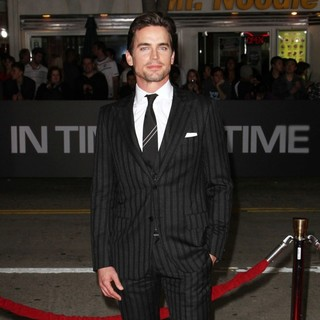 Matthew Bomer in The Premiere of In Time - Arrivals