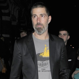 Matthew Fox in Matthew Fox Leaving The Vaudeville Theatre