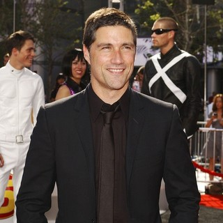 Matthew Fox in Speed Racer Premiere - Arrivals