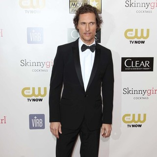 Matthew McConaughey in 18th Annual Critics' Choice Movie Awards