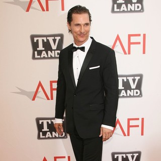 Matthew McConaughey in 2011 TV Land Presents AFI Life Achievement Award Honoring Morgan Freeman