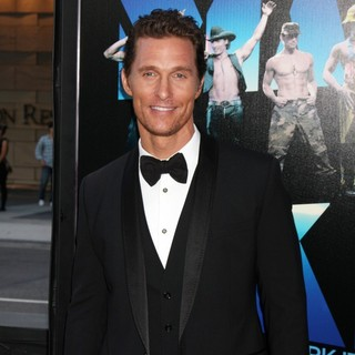 Matthew McConaughey in 2012 Los Angeles Film Festival - Closing Night Gala - Premiere Magic Mike