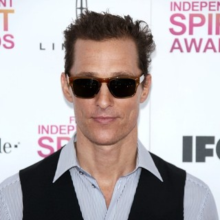 Matthew McConaughey in 2013 Film Independent Spirit Awards - Arrivals
