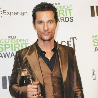 Matthew McConaughey in The 2014 Film Independent Spirit Awards - Press Room