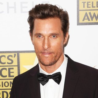 Matthew McConaughey in 4th Annual Critics' Choice Television Awards - Press Room