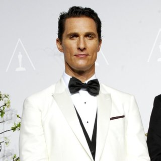 Matthew McConaughey in The 86th Annual Oscars - Press Room