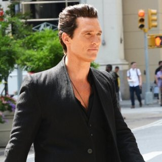 Matthew McConaughey on Location The Dark Tower