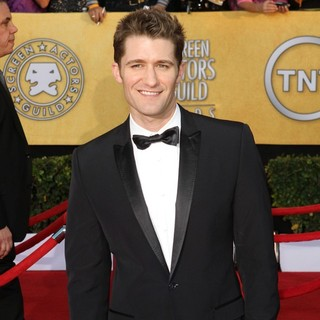 Matthew Morrison in The 18th Annual Screen Actors Guild Awards - Arrivals