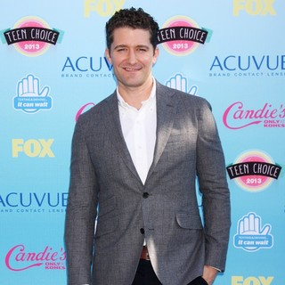 Matthew Morrison in 2013 Teen Choice Awards