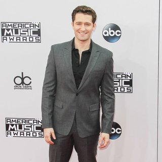 Matthew Morrison in 2014 American Music Awards - Arrivals