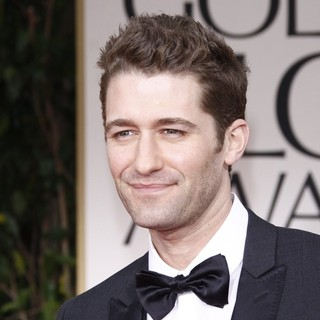 Matthew Morrison in The 69th Annual Golden Globe Awards - Arrivals