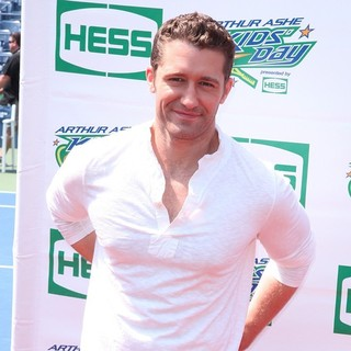 Matthew Morrison in Arthur Ashe Kids Day 2012