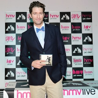 Matthew Morrison in Matthew Morrison Signs Copies of His Album Where It All Began