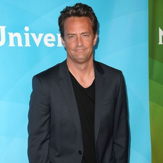 Matthew Perry in NBC Universal Press Tour