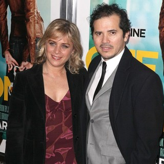 Justine Maurer, John Leguizamo in The One for the Money Premiere