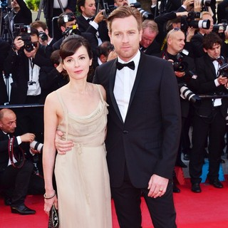 Eve Mavrakis, Ewan McGregor in On the Road Premiere - During The 65th Cannes Film Festival