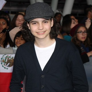Max Burkholder in The Premiere of The Twilight Saga's Breaking Dawn Part II