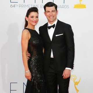 Max Greenfield in 64th Annual Primetime Emmy Awards - Arrivals
