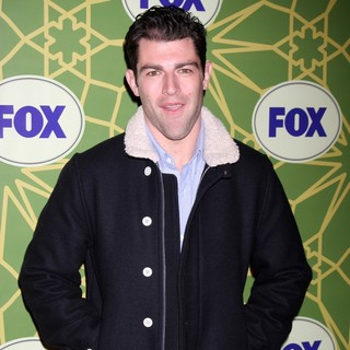 Max Greenfield in Fox 2012 All Star Winter Party - Arrivals