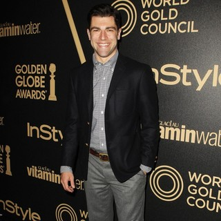 Max Greenfield in Miss Golden Globe 2013 Party Hosted by The HFPA and InStyle