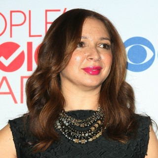 Maya Rudolph in 2012 People's Choice Awards - Press Room
