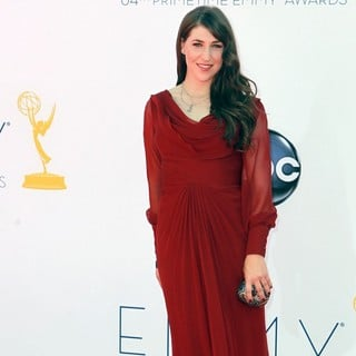 Mayim Bialik in 64th Annual Primetime Emmy Awards - Arrivals